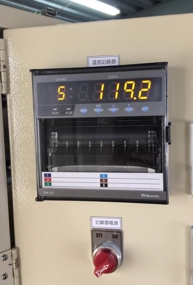 六點溫度顯示器 2