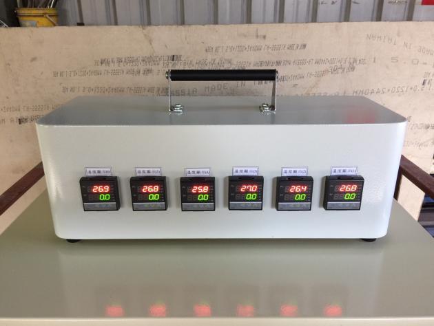 六點溫度顯示器 1